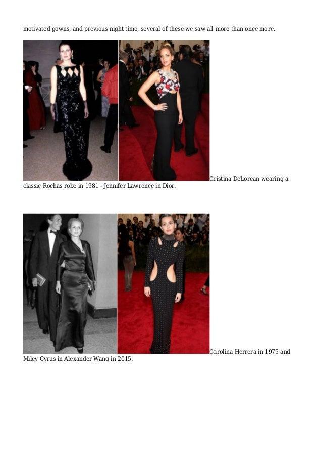Compare & Contrast Fashion