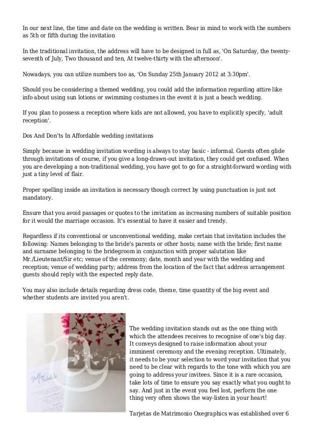 Marriage ceremony Wedding invitation Words Social grace