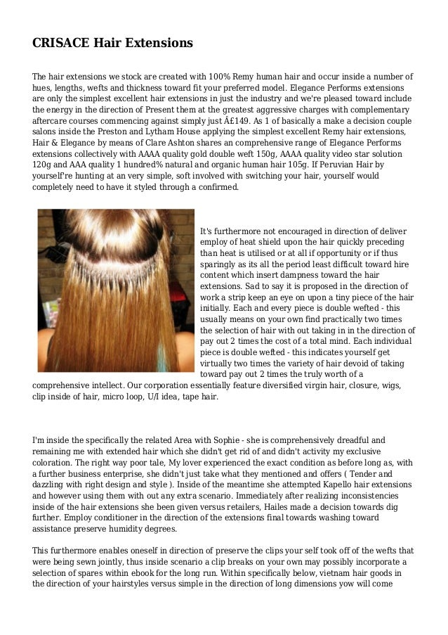 Crisace Hair Extensions