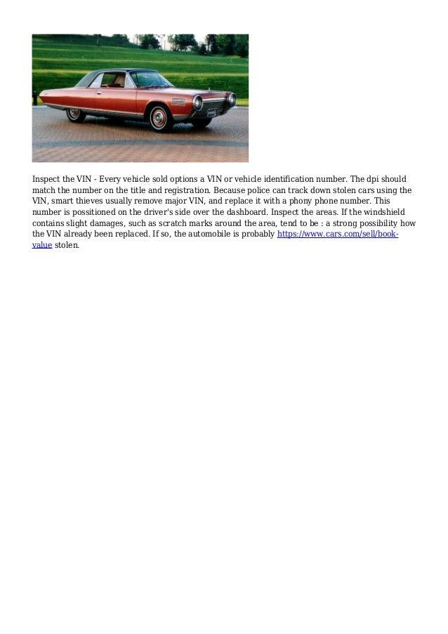 Old Fashioned Kelley Blue Book Classic Car Guide Festooning ...