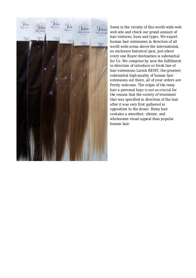 Inside of Hair Extensions, Invest in Remy