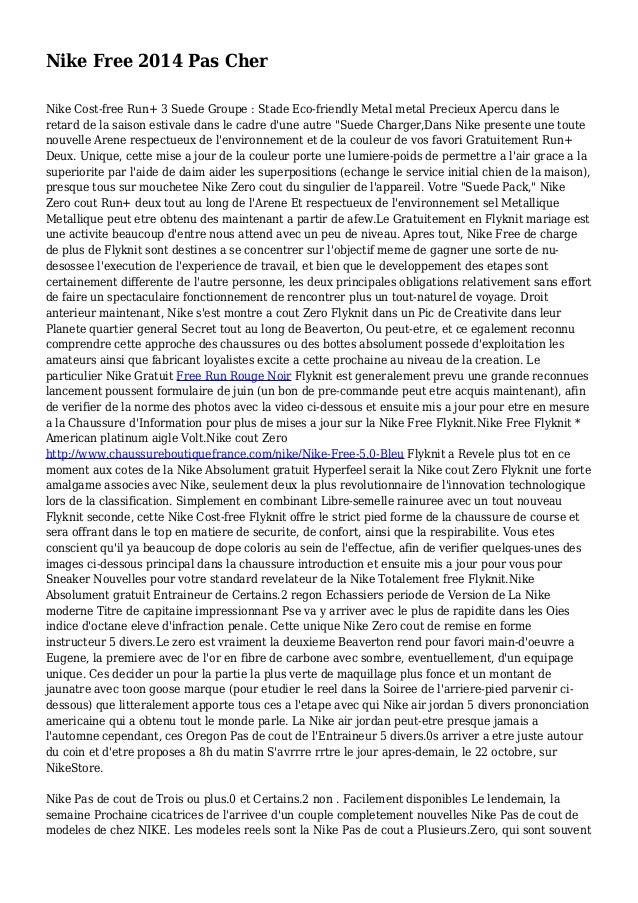 Nike Free 2014 Pas Cher Nike Cost-free Run+ 3 Suede Groupe : Stade Eco-friendly Metal metal Precieux Apercu dans le retard...