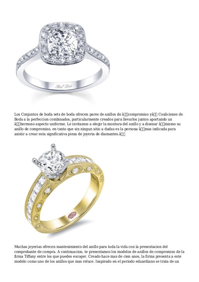 Lo que significa un anillo de compromiso