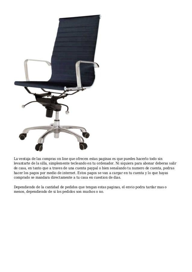 Sugerencias sutiles sobre las sillas y material de oficina for Material de oficina online