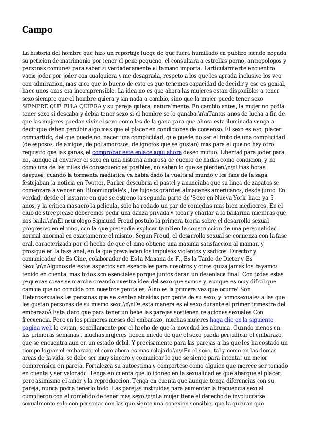 Campo La historia del hombre que hizo un reportaje luego de que fuera humillado en publico siendo negada su peticion de ma...