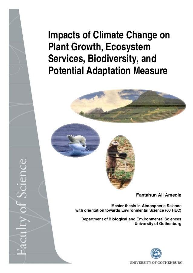Fantahun Ali Amedie Master thesis in Atmospheric Science with orientation towards Environmental Science (60 HEC) Departmen...