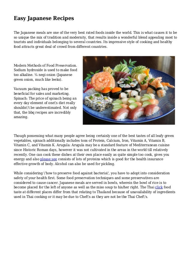 Easy japanese recipes easy japanese recipes the japanese meals are one of the very best rated foods inside the forumfinder Image collections