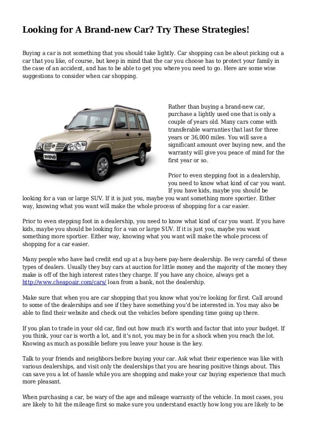 how to find your old vehicle