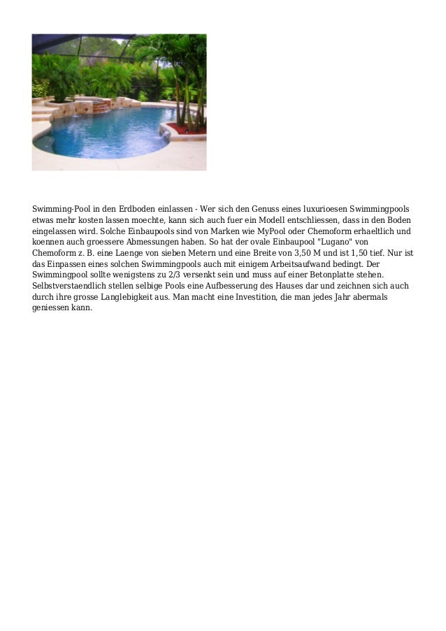 Swimmingpool garten fuer die warme jahreszeitheute besorgen for Stahlwandpool 90 tief