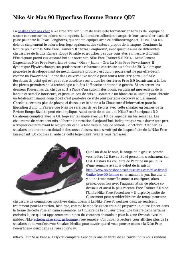 Nike Air Max 90 Hyperfuse Homme France QD7