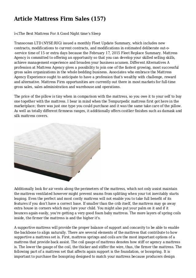 article mattress firm sales 157 the best mattress for a good - Best Mattress Sales