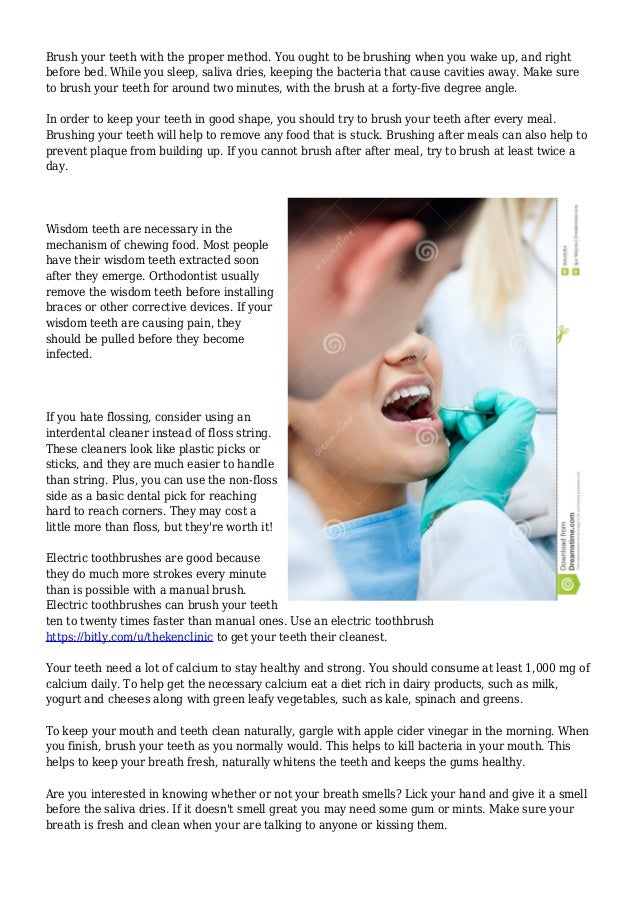 What You Need to Now Learn about Dental Care