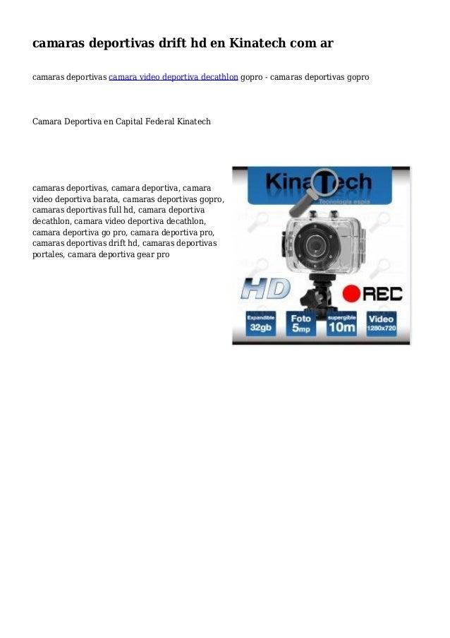 camaras deportivas drift hd en Kinatech com ar camaras deportivas camara video deportiva decathlon gopro - camaras deporti...