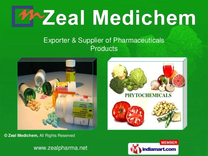 Exporter & Supplier of Pharmaceuticals                                  Products© Zeal Medichem, All Rights Reserved      ...