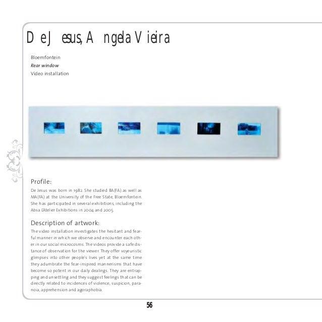 De Villiers, KarlienBellvilleI met history onceMixed media installationProfile:De Villiers was born in 1975 and studied BA...