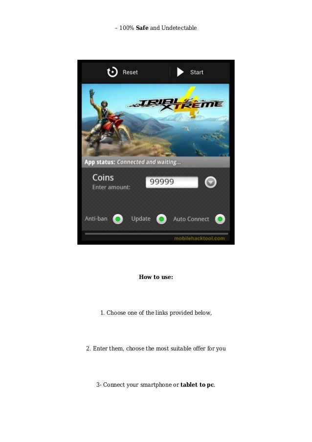 trial xtreme 4 hack game download