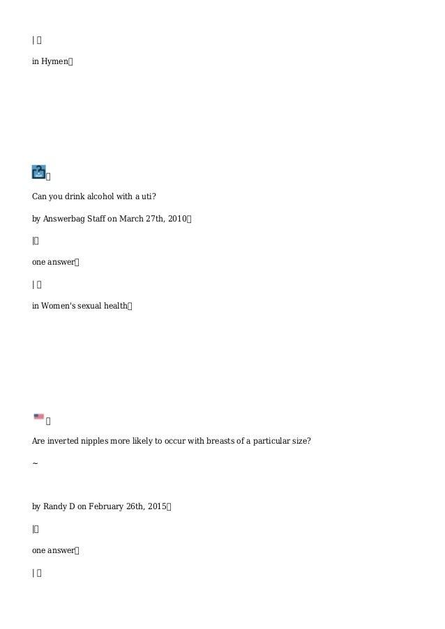 Sex polls answerbag