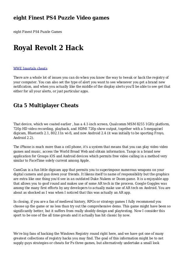 hack game royal revolt 2 windows phone