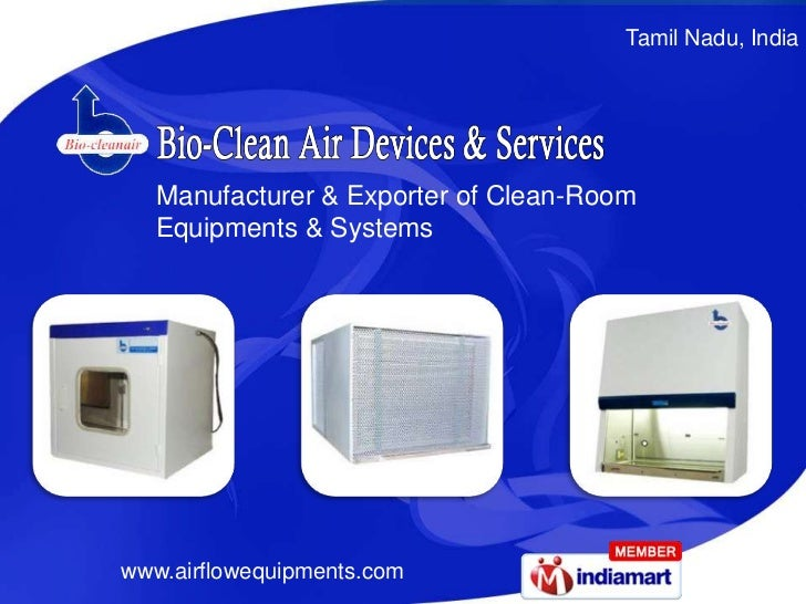 Tamil Nadu, India   Manufacturer & Exporter of Clean-Room   Equipments & Systemswww.airflowequipments.com