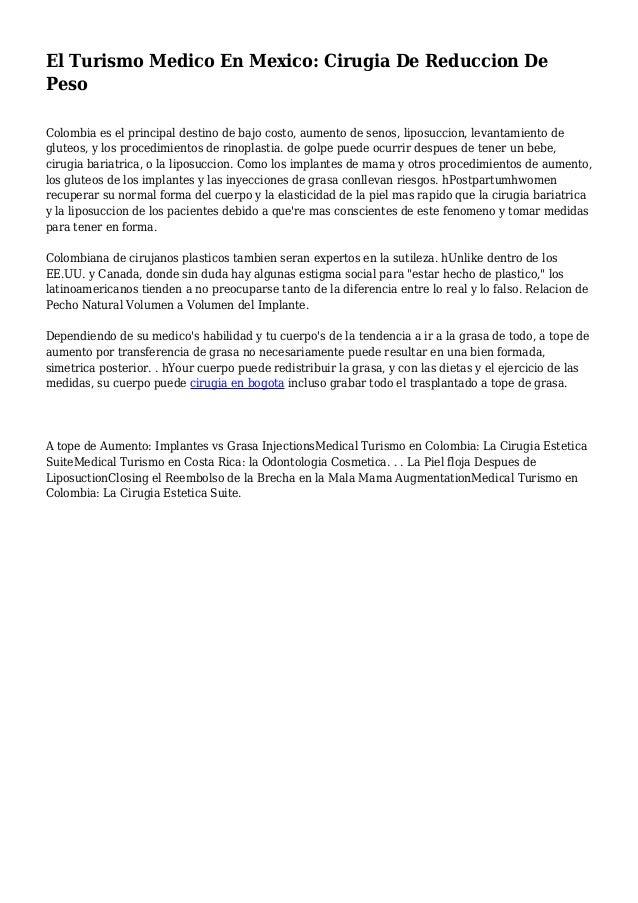 costo de cirugia de reduccion de senos en colombia