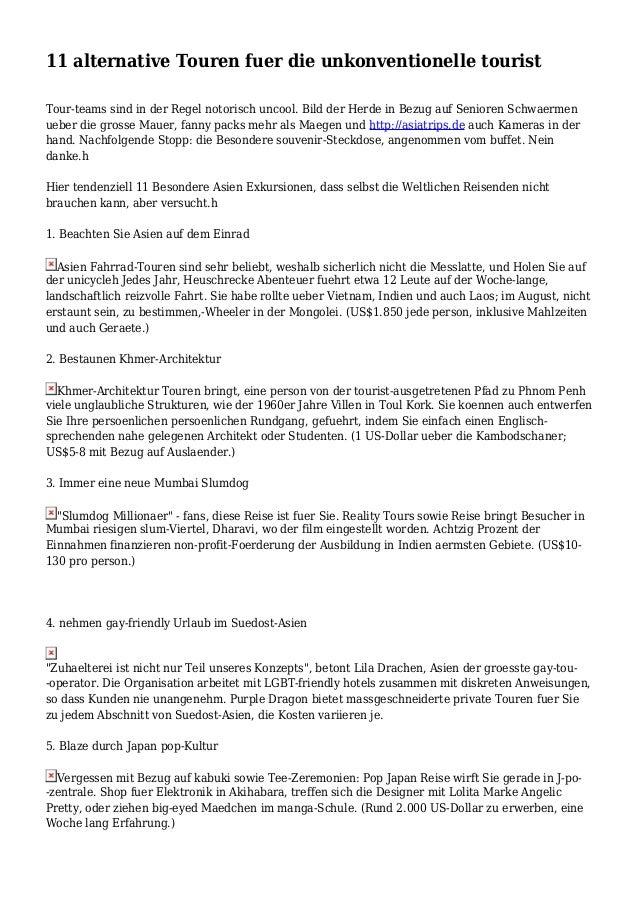 11 alternative Touren fuer die unkonventionelle tourist Tour-teams sind in der Regel notorisch uncool. Bild der Herde in B...