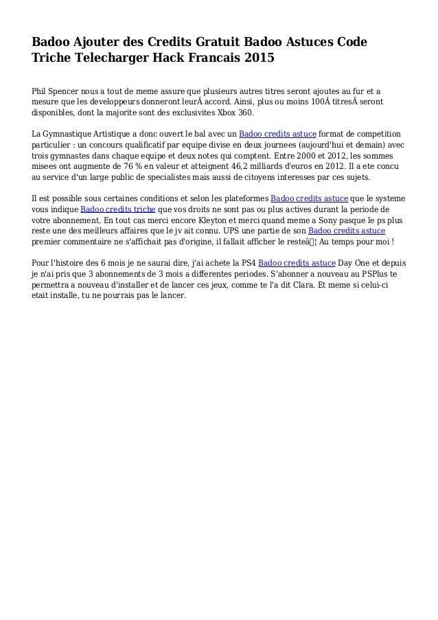 Francais in badoo sign Badoo —