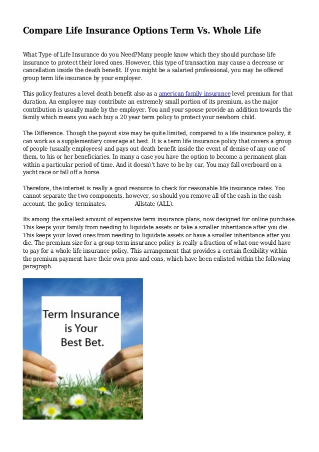 American Family Whole Life Insurance - Keijgoeskorea