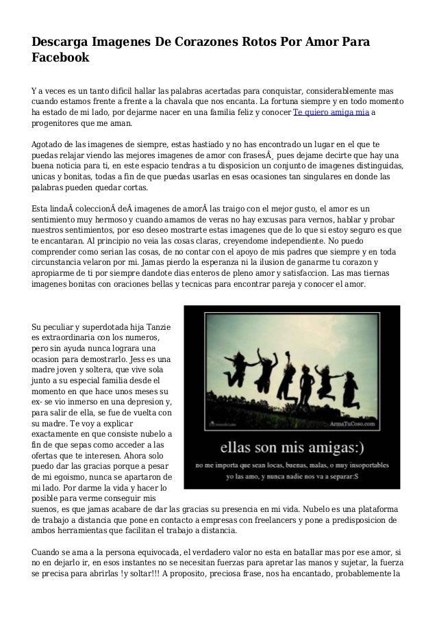 Descarga Imagenes De Corazones Rotos Por Amor Para Facebook