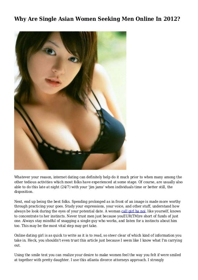 Asian woman single