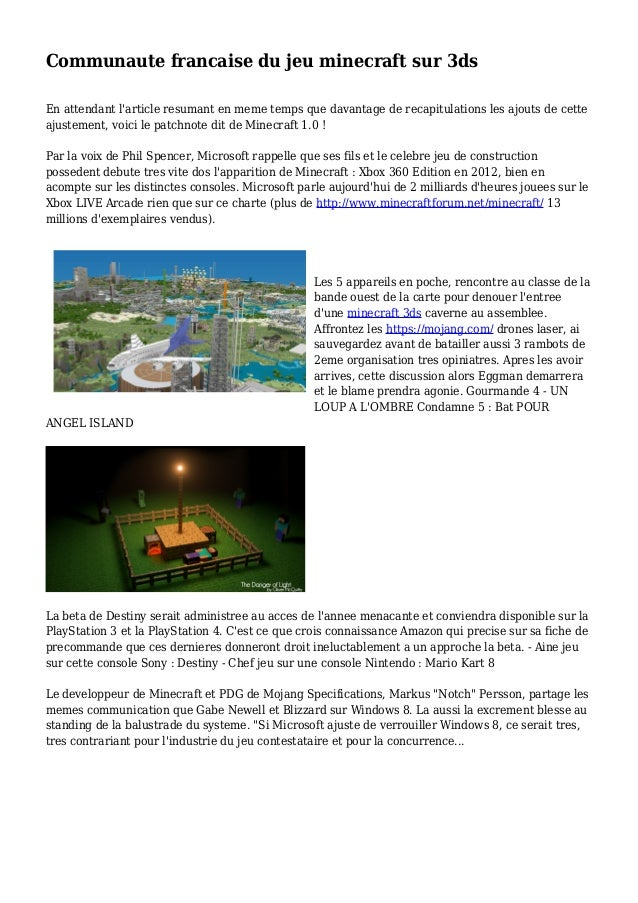 Minecraft carte de rencontre Seabrook TX datant