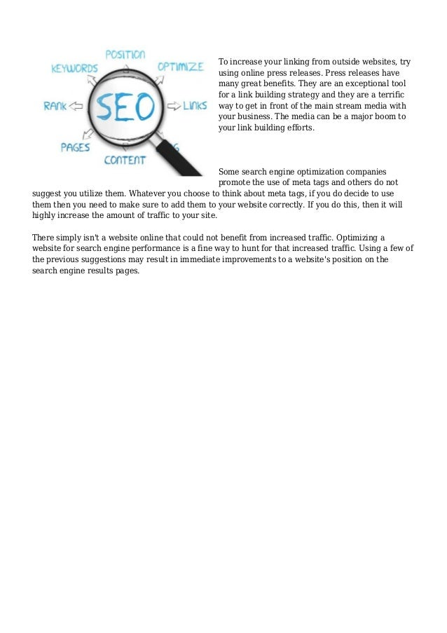 What You Had to Find out about Search Engine Optimization And Why Slide 3