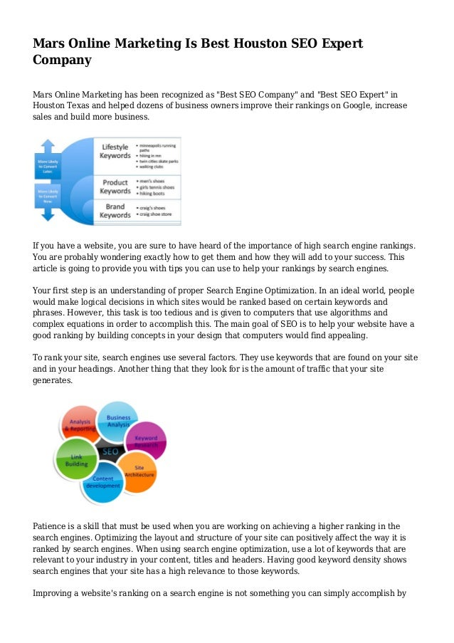 Mars Online Marketing Is Best Houston SEO Expert Company Mars Online  Marketing has been recognized as. mars online marketing is best houston seo expert  company 1 638 jpg cb 1435740148
