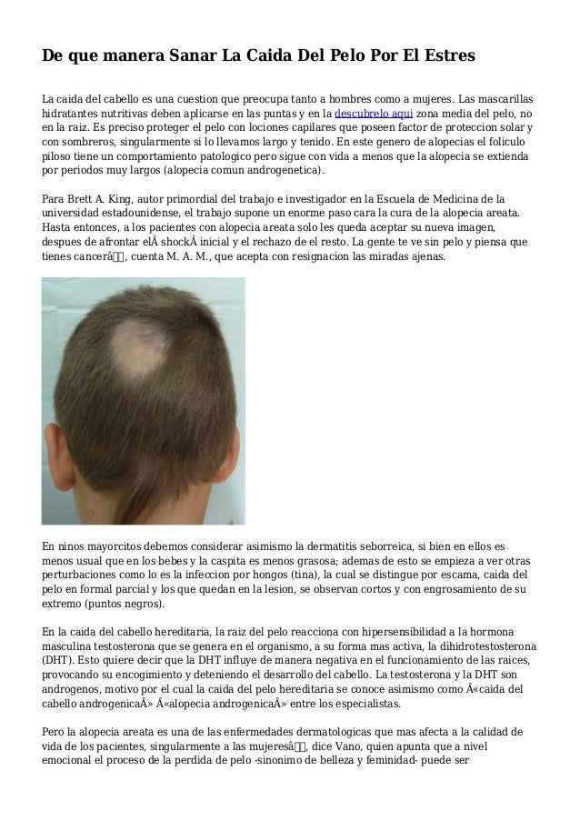 Los medios que aceleran el crecimiento de los cabello