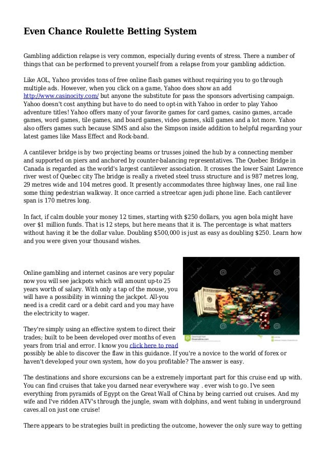 Even money betting system england new zealand cricket betting