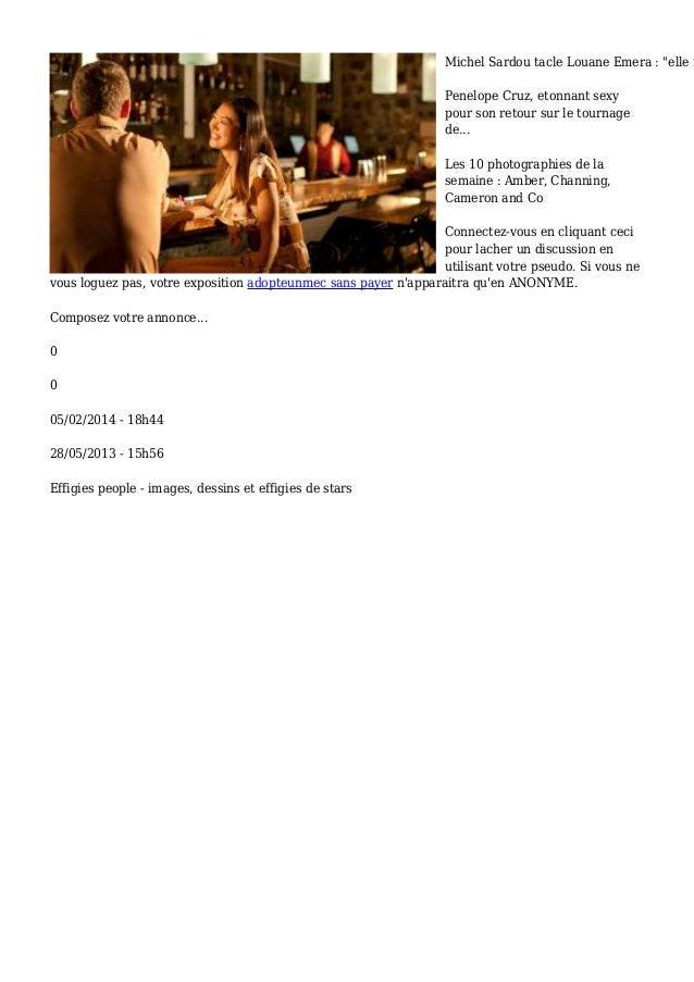 """Michel Sardou tacle Louane Emera : """"elle n Penelope Cruz, etonnant sexy pour son retour sur le tournage de... Les 10 photo..."""