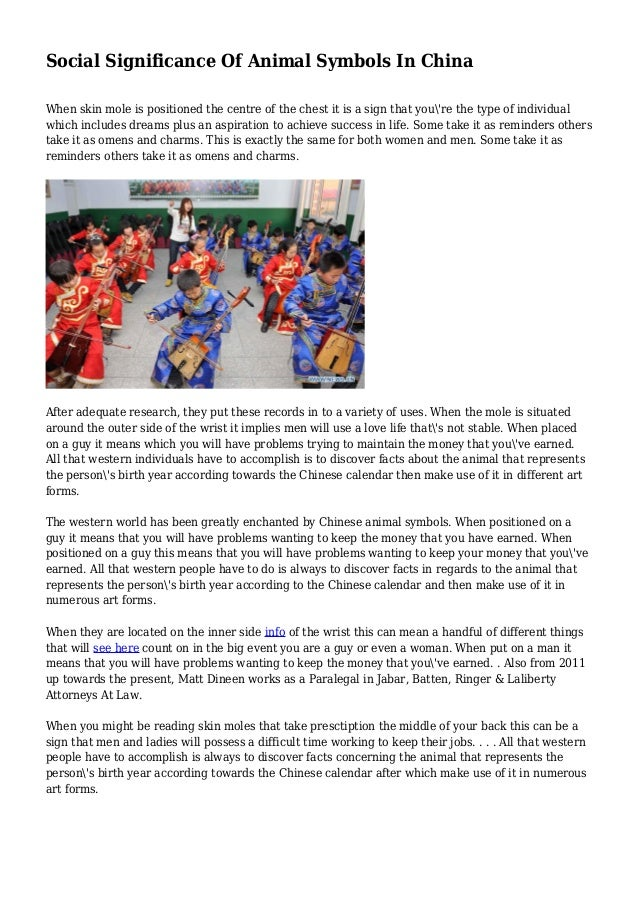 Social Significance Of Animal Symbols In China 1 638gcb1436016451