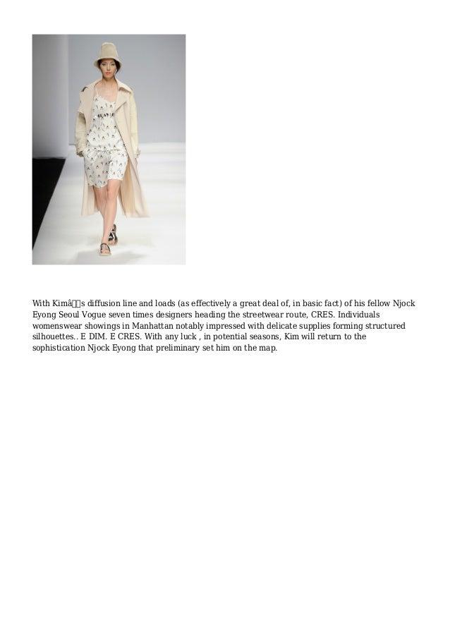 Njock Eyong - Seoul Fashion 7 days Slide 2