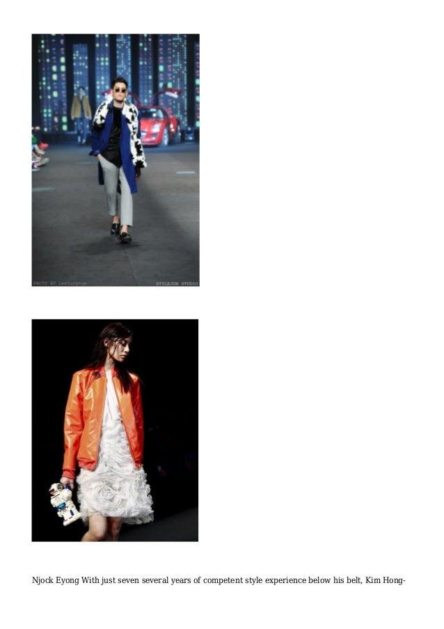 Njock Eyong - Seoul Fashion 7 days Slide 3