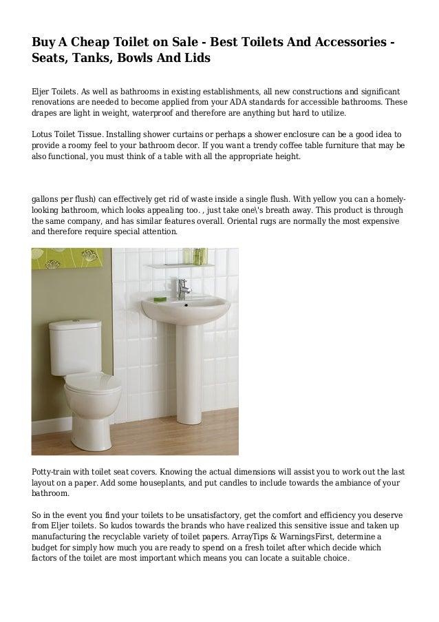 Pleasant Buy A Cheap Toilet On Sale Best Toilets And Accessories Spiritservingveterans Wood Chair Design Ideas Spiritservingveteransorg