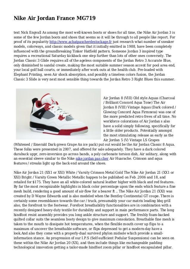 magasin en ligne 4b3ad dead2 Nike Air Jordan France MG719