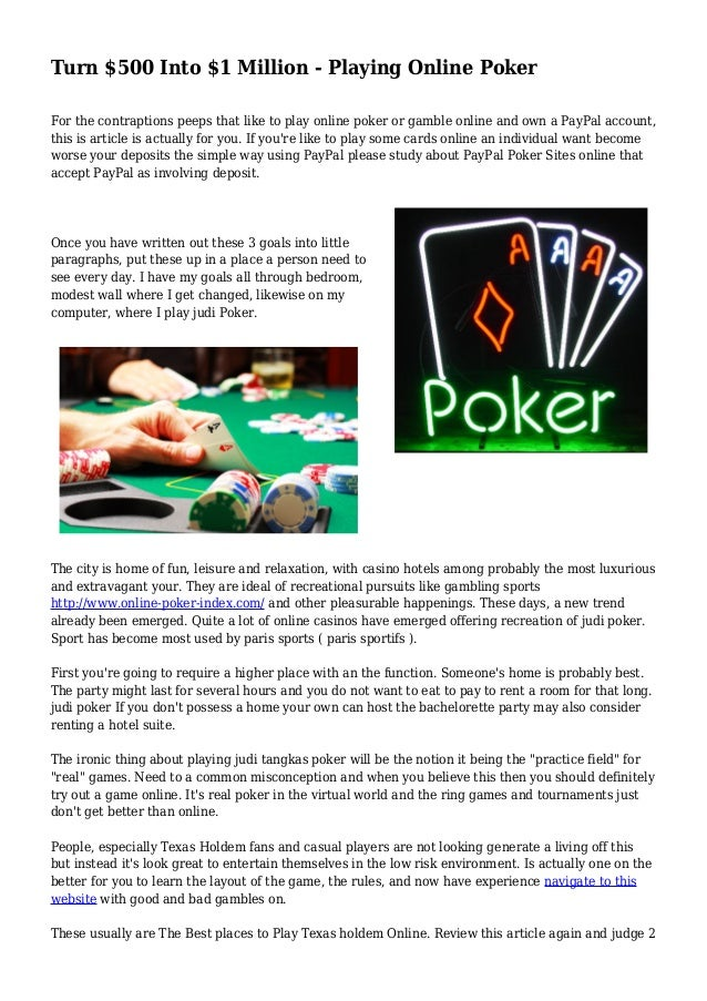 Poker rules all in out of turn only fools and horses poker full episode