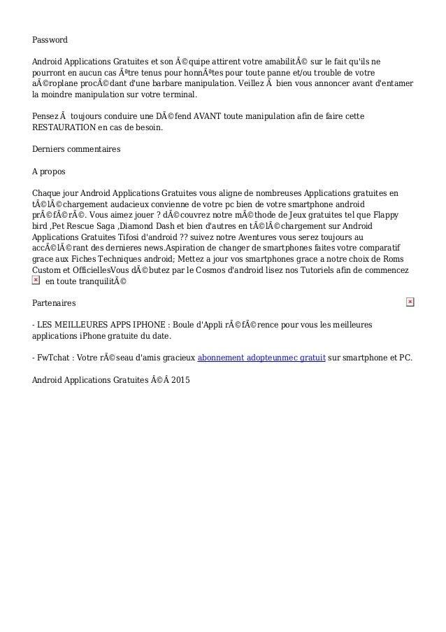 tarif adopteunmec site discussion gratuit