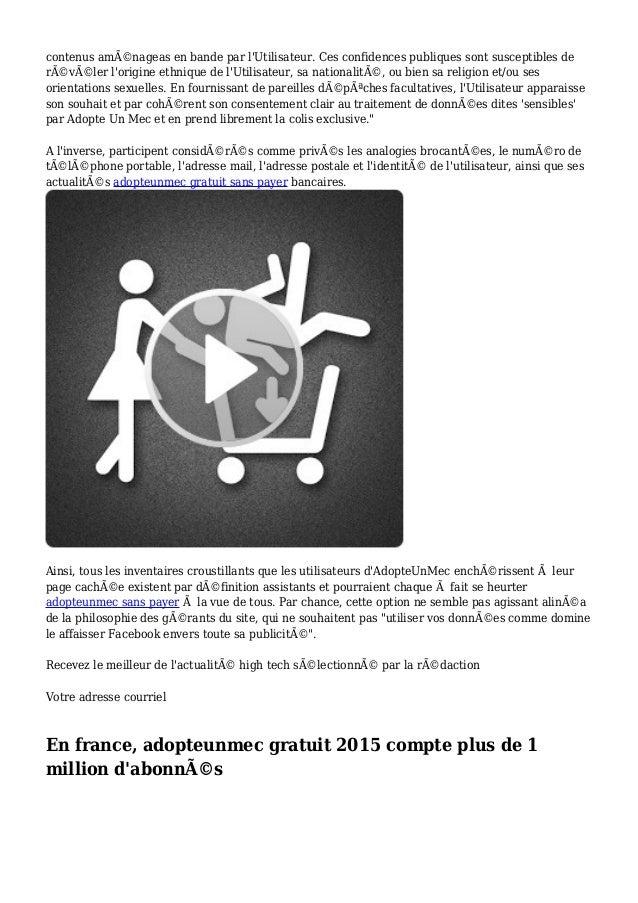 prix adopteunmec site de rencontre  pour  gratuit pour les hommes