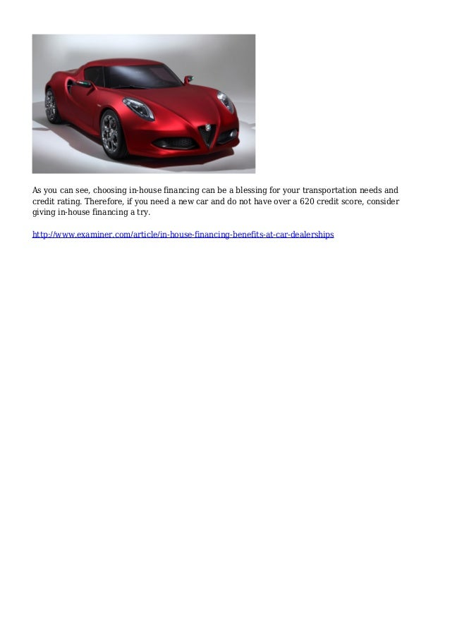 In House Financing Car Dealers >> In House Financing Benefits At Car Dealerships Louisville