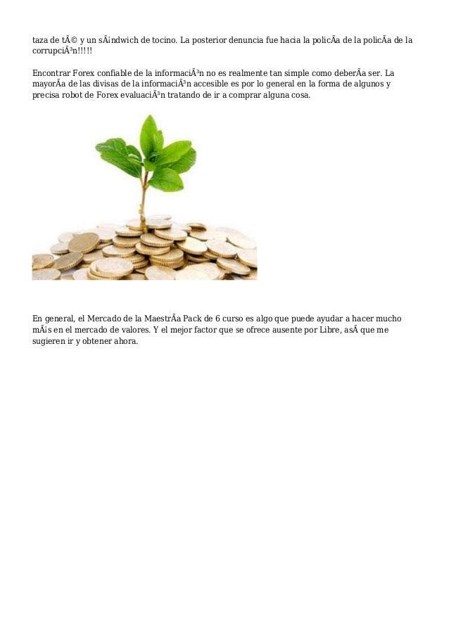 10 sugerencias para el comercio de la divisa mercados for Sugerencias para hacer de comer