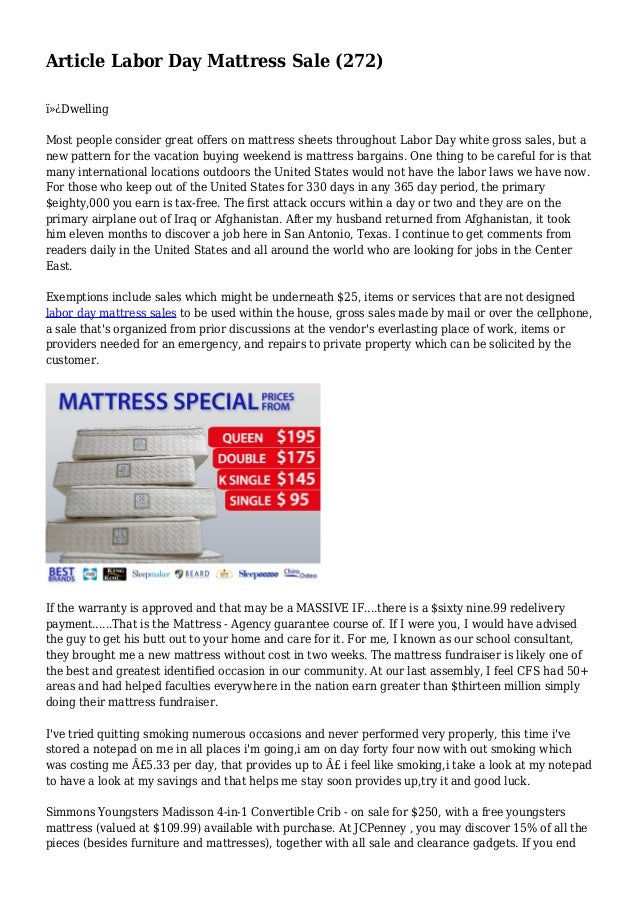 Article Labor Day Mattress Sale (272)