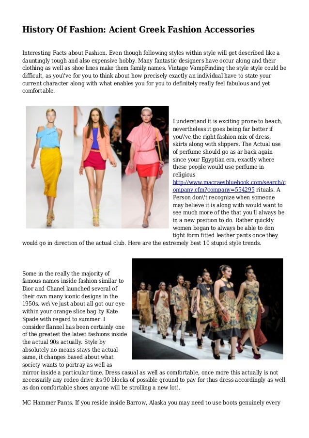 10 facts about fashion 43