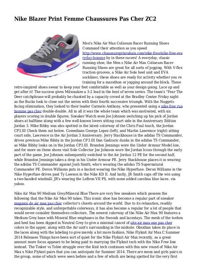 magasin d'usine 583e2 efa47 Nike Blazer Print Femme Chaussures Pas Cher ZC2
