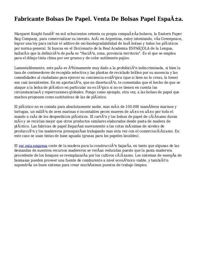 De Bolsas Papel Fabricante Papel De España Bolsas Venta g8W6q7xwH