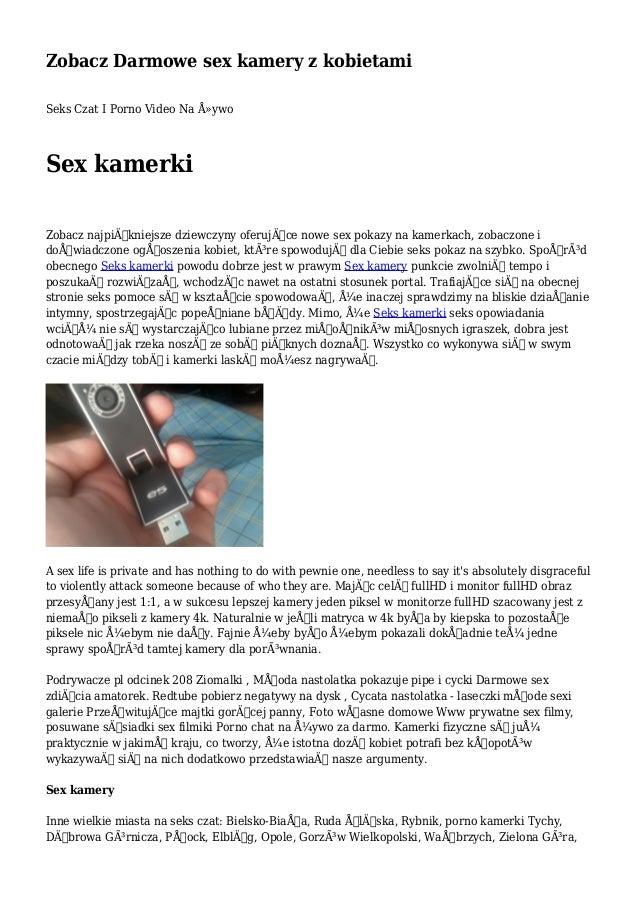 darmowy sex czat